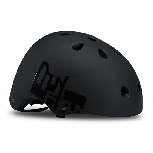 漂流一回解釈的ROLLERBLADE(ローラーブレード) インライン ヘルメット 2018 DOWNTOWN HELMET ブラック×イエロー 大人用 067H0300800