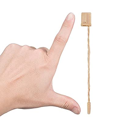 Jovitec 1000 Pack 7 Inch Hang Tag Fasteners Hemp Twine Snap Locks Pin Security Loop : Office Products