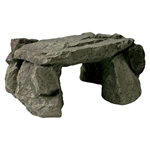 Zilla Reptile Habitat Décor Shale Rock Den, Medium 32