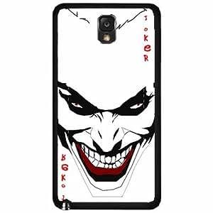 Joker - Plastic Phone Case Back Cover (Samsung Galaxy Note III 3 N9002)