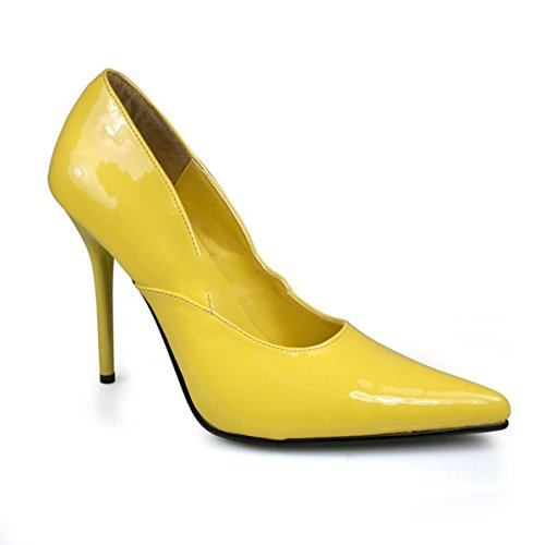 Pleaser Milan-01 - Sexy spitz geschnittene Pumps High Heels 35-45