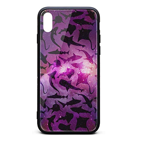 Phonerebey iPhone Xs Max Case,Great White Shark Tours (2) Anti-Scratch Shockproof Slim Cover Case Compatible with Apple iPhone Xs Max Case,TPU and Tempered Glass