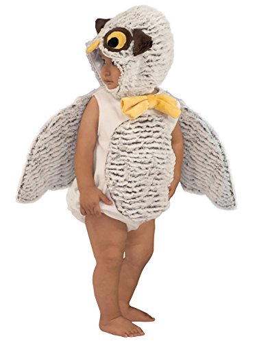 Princess Paradise Baby Oliver The Owl, White/Brown 18M/2T