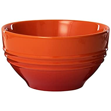 Le Creuset Stoneware 6-Inch Cereal Bowl, Flame