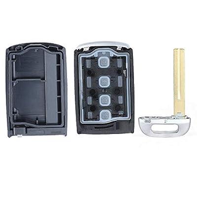 Keyecu Replacement Remote Key Shell Case Fob for 2020 2020 Kia Cadenza - TQ8-FOB-4F10: Automotive