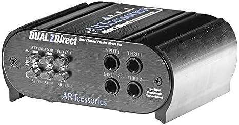 ART DUALZDIRECT - Caja de inyección: Amazon.es: Instrumentos musicales