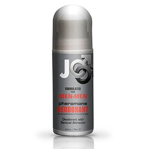 Sistema Jo Pheromone Sensual Roll on desodorante para hombres - hombres: tamaño de 2.5 Oz
