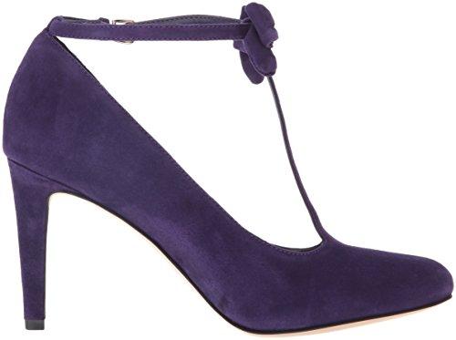 West Dark Stöckelschuhe Purple Hollison Nine Rund Stoff 0B8xqwA1