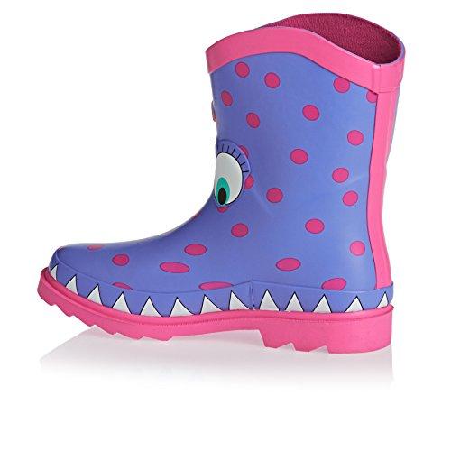 Animal Wellington Boots - Animal Boo Wellington Boots - Persian Blue