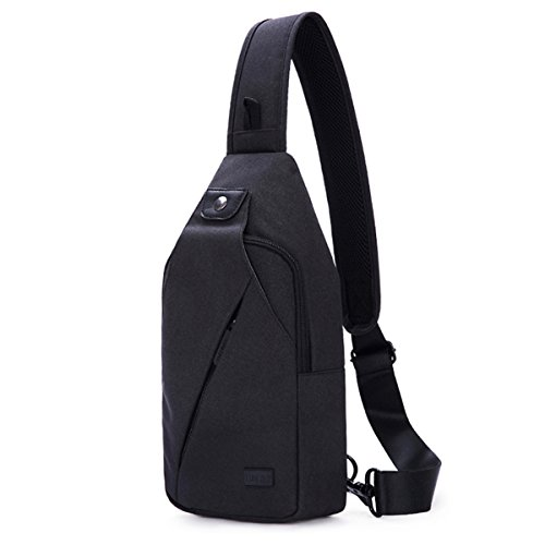 TINYAT Sling Bag Pack, Chest Shoulder Crossbody Hiking Backpack Sport Bicycle Rucksack Handbag School Daypack for Men Women