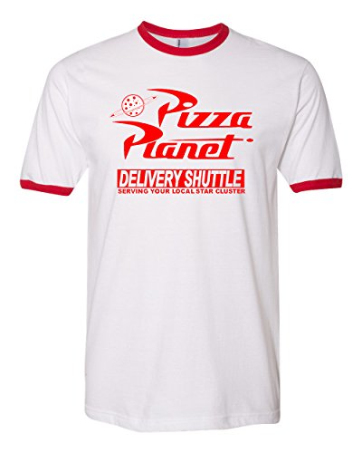Pizza Planet Disney Toy Story Red and White