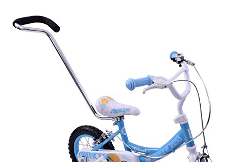 Bicycle Parent Pole Safety Control Grab Handle Childs Kids