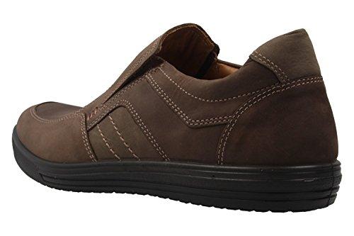 Jomos - Zapatos de cordones para hombre Marrón choco/asphalt Weite H Marrón - choco/asphalt Weite H