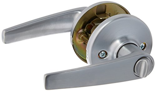 Delta Handle Innovations Lever (Kwikset 300DL 26D RCAL RCS 93001-272 Delta Bed/Bath Lever, Satin Chrome)