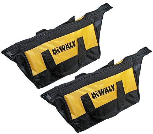 - Dewalt Ballistic Nylon 12-inch Mini Tool Bag - 2-Pack