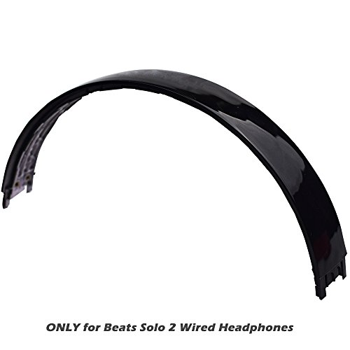 Replacement Top Headband Repair Parts for Beats Solo 2 Solo 2.0 Wired Headphones Black