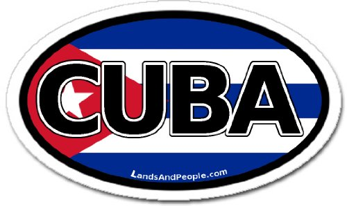 cuban flag car decal - 4