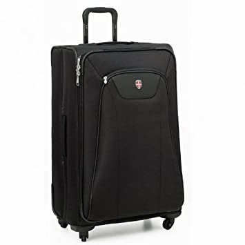 Amazon.com: Ellehammer Copenhagen Spinner Travel Bag, Large, Black ...