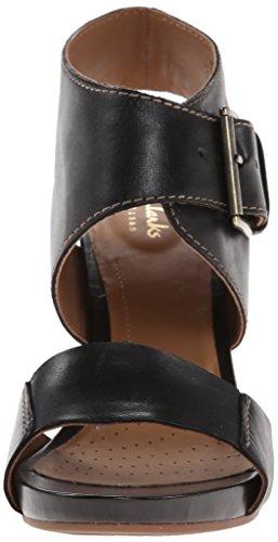 Clarks Okena Mod vestido de la sandalia Black