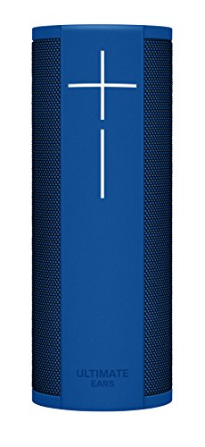 Ultimate Ears MEGABLAST Portable Wi-Fi/Bluetooth Speaker with Hands-Free Amazon Alexa Voice Control (Waterproof) - Blue Steel