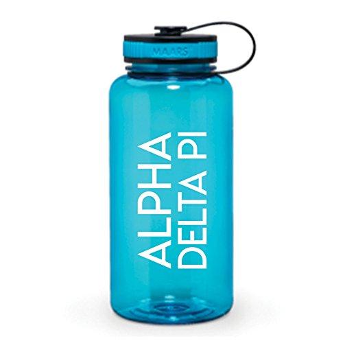 Go Greek Chic Alpha Delta Pi Sorority Water Bottle