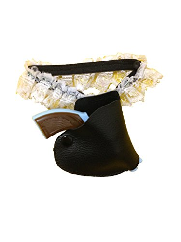 480c860de4a United Mask   Party White Lace Gun Garter with Cap Gun and Caps