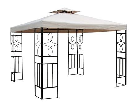 ERSATZGESTELL Pavillon Romantika 3x3m Pavillion Ersatzgestänge OHNE Dach ~ 3x3