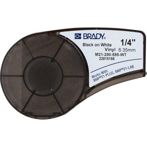 "Brady M21-250-595-WT, 139744 0.25"" x21' White BMP21 Series I"
