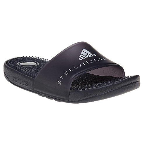 adidas Adissage W, Chaussures de Plage et Piscine Femme Noir (Ngtste/ngtste/ftwwht)