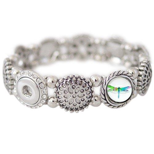 Chunk Charm Stretch Bracelet Petite