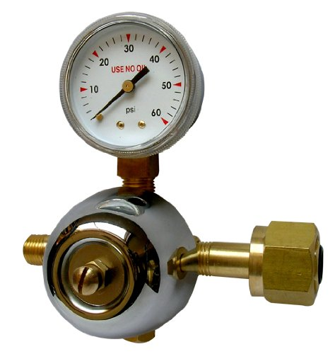 ACTIVE AIR CO2 Replacement Regulator for Hydrofarm CO2 System ()
