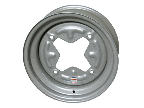Dexstar 13x4.5 Vintage Steel Trailer Wheel 4 on 9.44''