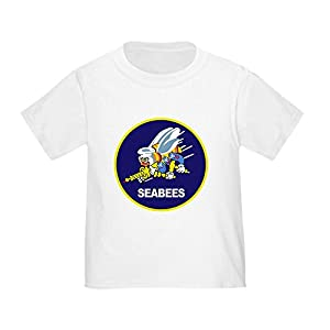 CafePress - Seabees_Navy - Cute Toddler T-Shirt, 100% Cotton by CafePress