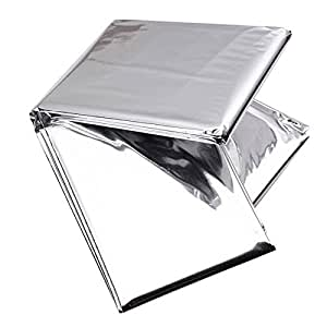 2pcs Plant Reflective Film - Greenhouse Covering Foil Sheets Grow Light Accessories, 82.68 x 47.24inch