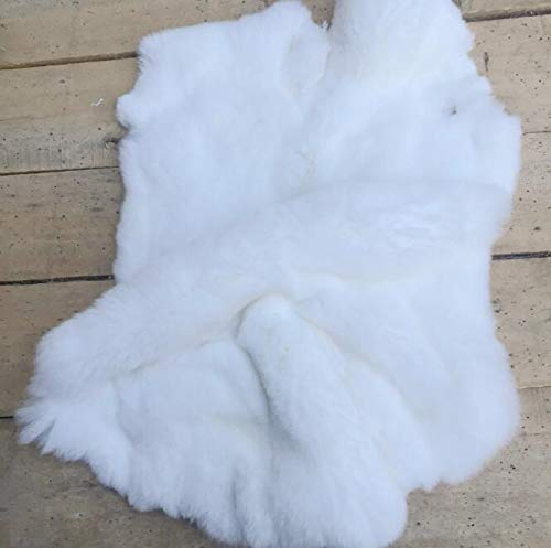 Artificial Fur Material - 1 Pcs Rex Rabbit Fur Raw Material Clothing Wholesale Skin Real Leather - Band Throws Neck Trapper Bedroom Diamond Crafts Accessories Winter Purple Women Scraps