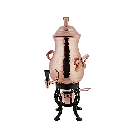 - Coffee Urn 50 Cup Hammered Copper - 11