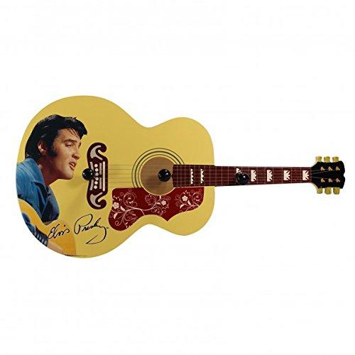 Elvis Presley - Perchero de pared con forma de guitarra ...