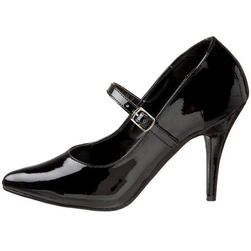Pleaser Vanity-440 - Sexy High Heels Lack Pumps 35-48, Größe:EU-45 / US-14 / UK-11