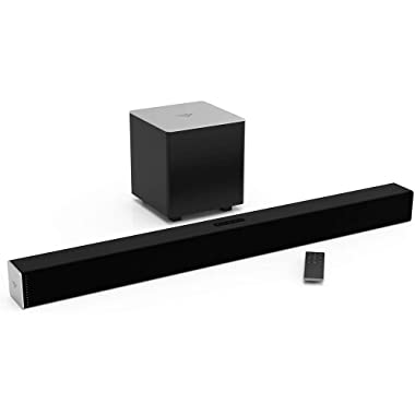 Vizio SB3821-C6C 38 Inch 2.1 Sound Bar System (Renewed)