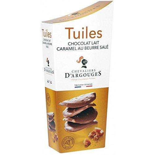 Estuche tejas chocolate con leche caramelo mantequilla salada 130g: Amazon.es: Alimentación y bebidas