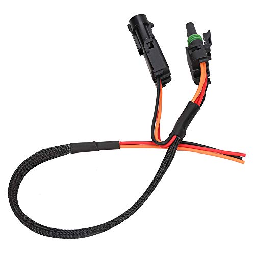 Tail Light Power Harness Quick Harness for Can-Am Maverick X3 2017 2018 2019 License Plate, Whip Light, or Rear Chase Light