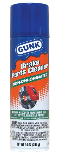 GUNK M705 Non-Chlorinated Brake Cleaner - 14 (Non Chlorinated Degreaser)