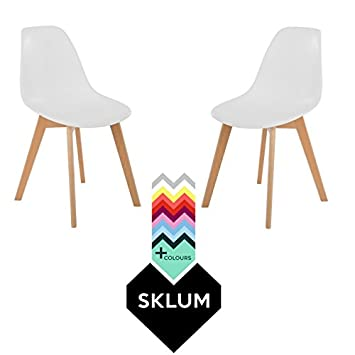 SKLUM Pack 2 Sillas IMS Nordic Blanco - (Elige Color)