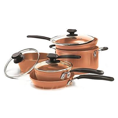Ecolution Endure 8 Piece Cookware Set - Copper