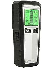 KKmoon Detector de parede Stud Finder 5 em 1 Multi-função Detector eletrônico de parede Localizador de sensor Smart Stud Nail Finder Detector de metal com display LCD para metal madeira Studs Live Wire Detecção de vergalhão