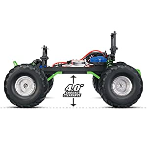 Traxxas Skully 1/10 Scale Monster Truck with TQ 2.4GHz Radio System, Green