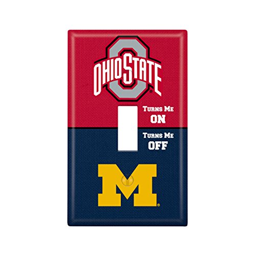 Keyscaper Ohio State University Single Toggle Light Switch Cover NCAA ()