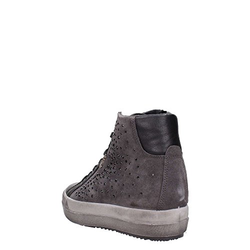 IGI & CO mujer dentro de las zapatillas de deporte de la cuña 67523/00 gris oscuro
