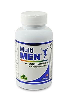 Multi Men 100 Tablets - Dietary Supplement - Vitamins & Minerals - Herbs - Amino Acids - Antioxidants