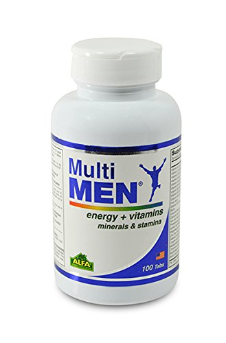 Multi Men 100 Tablets - Dietary Supplement - Vitamins & Minerals - Herbs - Amino Acids - Antioxidants